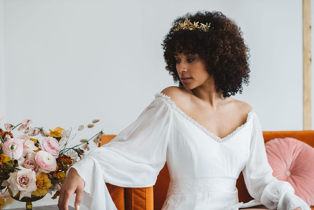 modern bridal queen fashion editorial by ARCHIVE 12