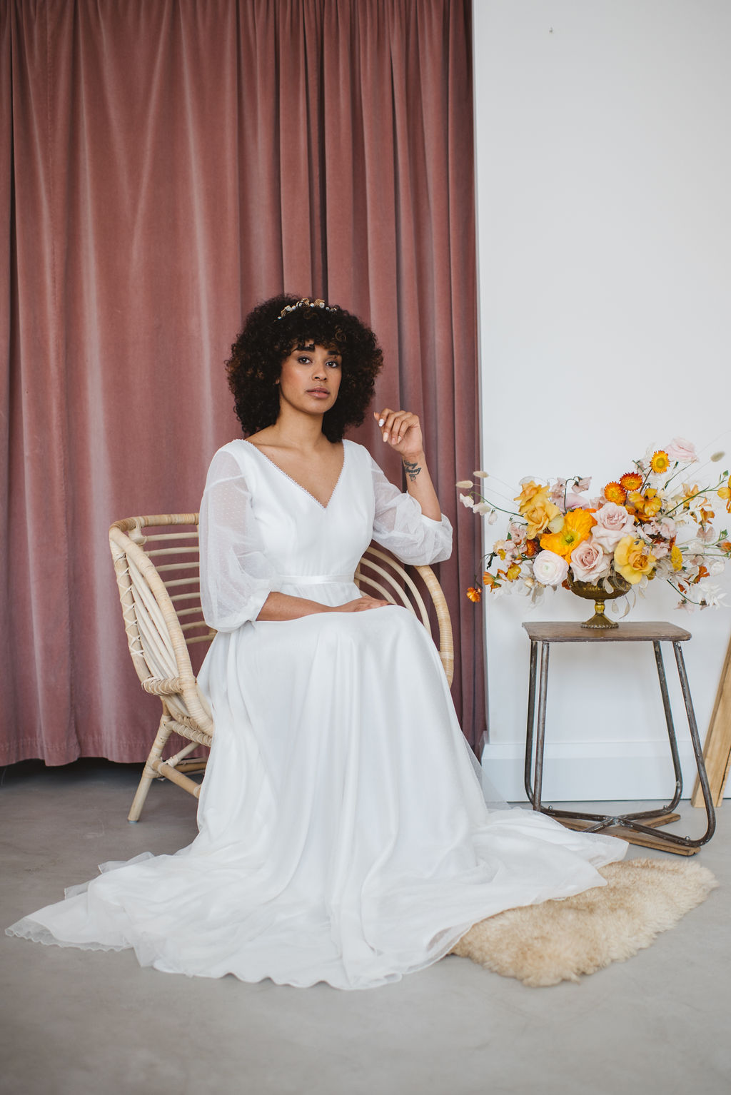 boho bridal editorial fashion shoot at ARCHIVE 12 BOUTIQUE