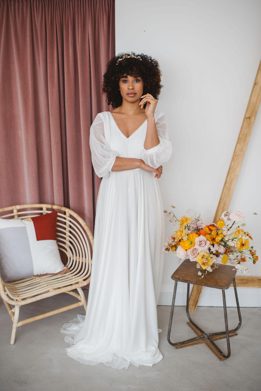 statement sleeve wedding dresses at archive 12 belfast