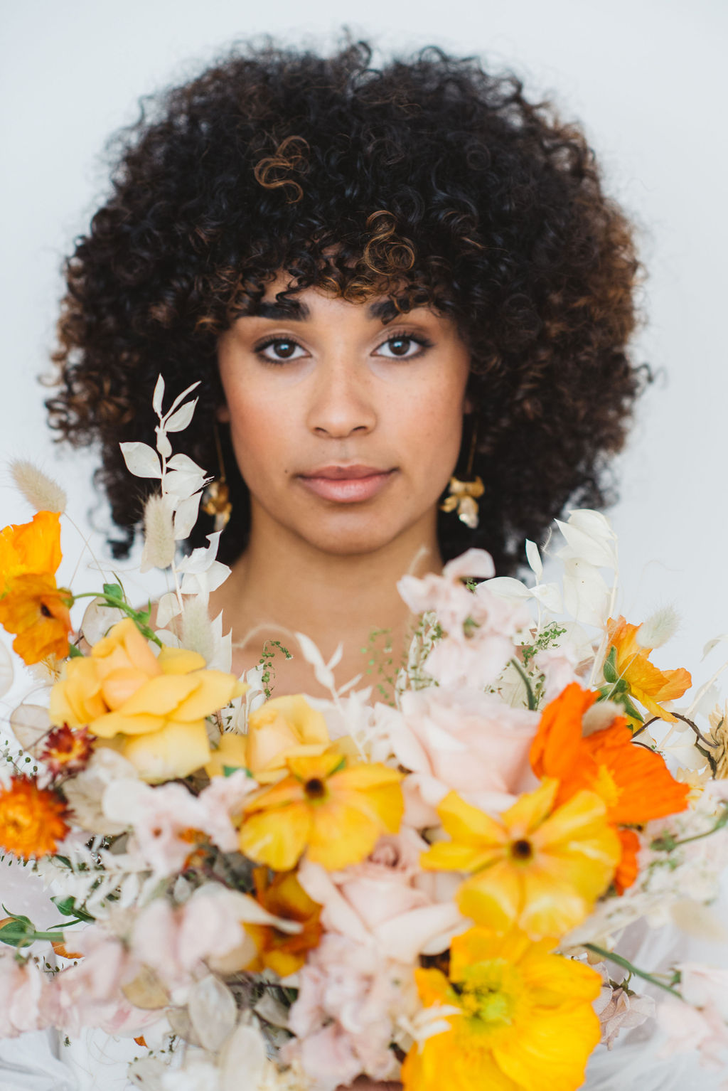orange and yellow wedding flowers - archive 12 look book