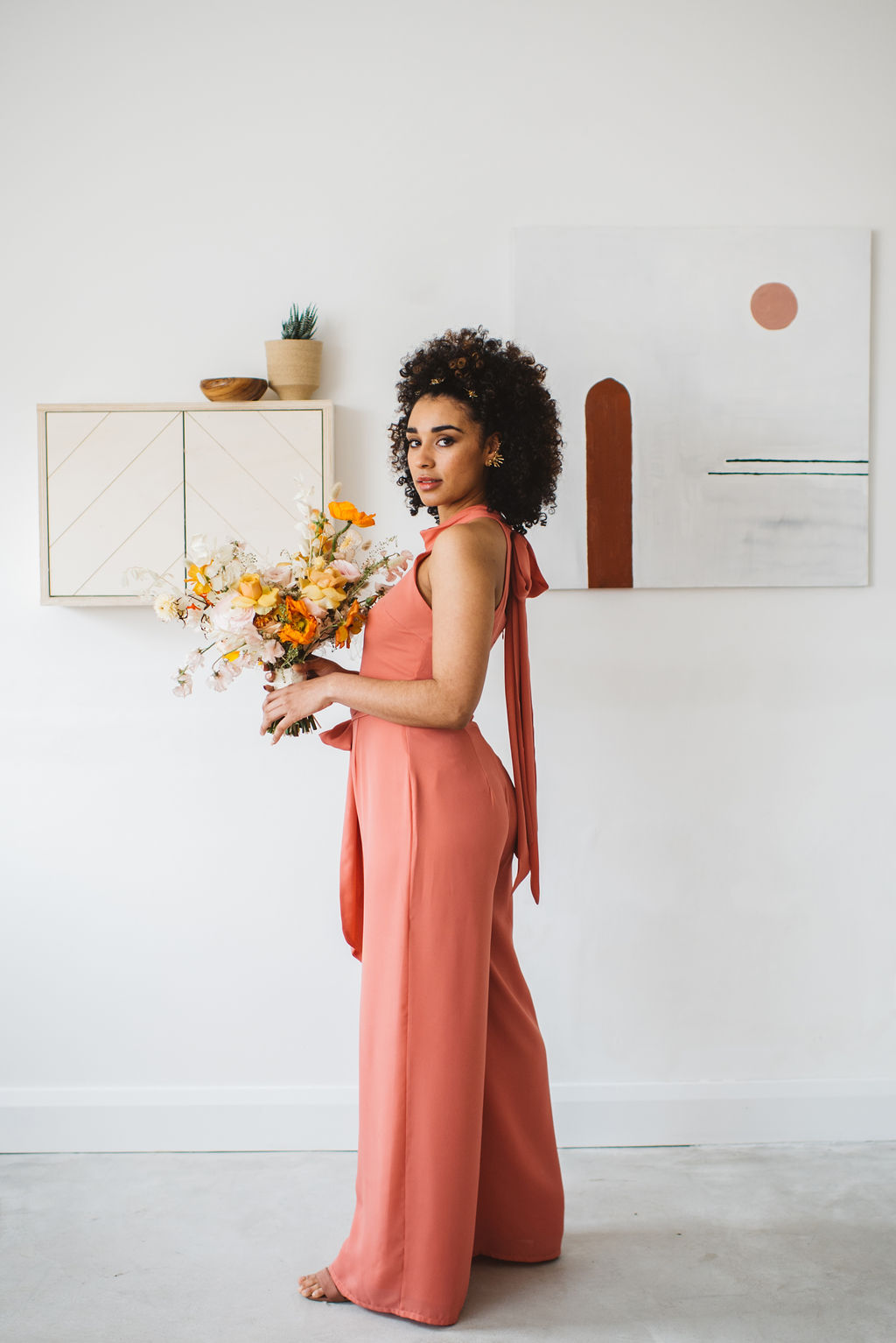 MODERN BRIDESMAIDS JUMPSUITS BY REWRITTEN AT ARCHIVE 12