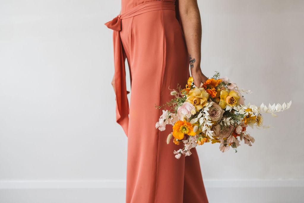 CORAL BRIDESMAIDS BY REWRITTEN - ARCHIVE 12 LOOK BOOK