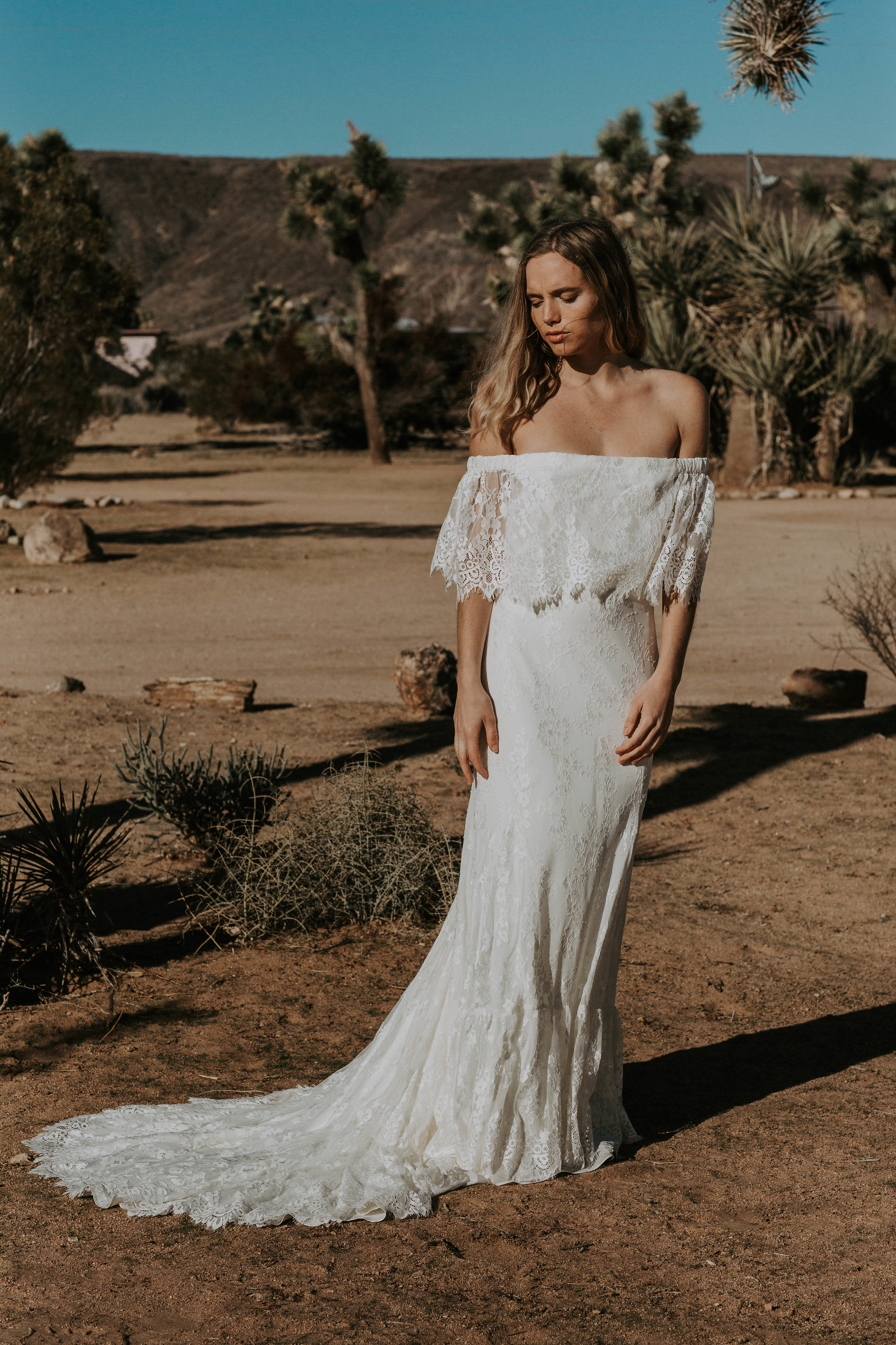 Daughters of simone boho wedding dress