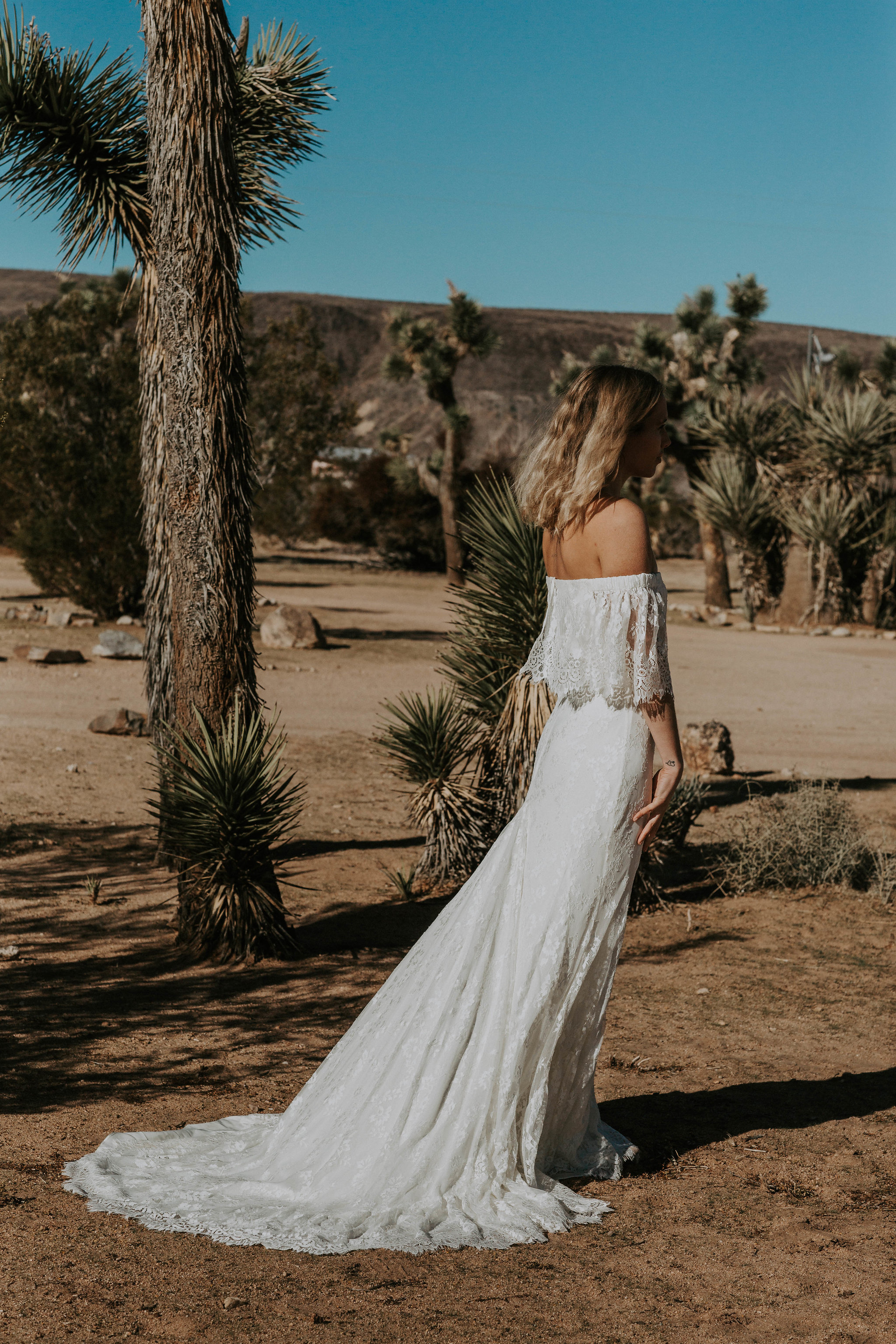 boho wedding dress by Daughters of simone