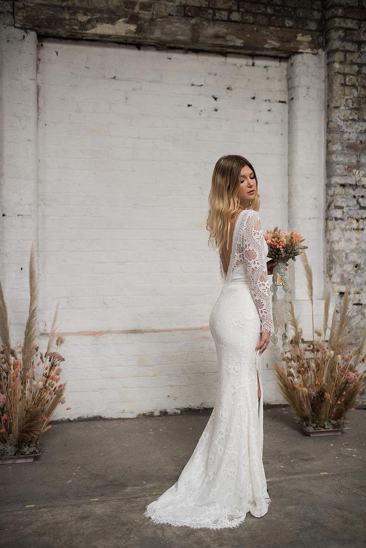 modern boho lace wedding dresses ireland