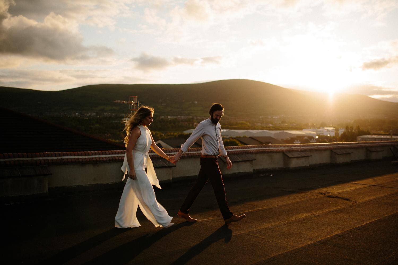 ivory wedding jumpsuit by Rewritten bridesmaids