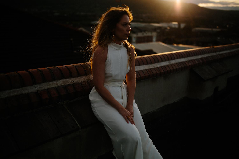 ivory bridal jumpsuit by Rewritten bridesmaids