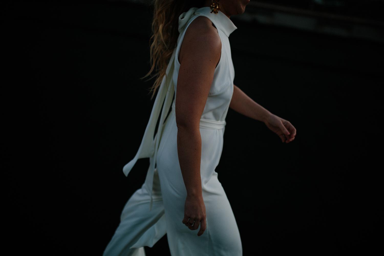 rewritten bridesmaids ivory soho jumpsuit