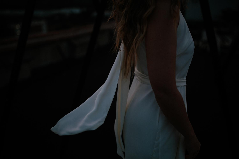 rewritten ivory bridesmaids jumpsuit