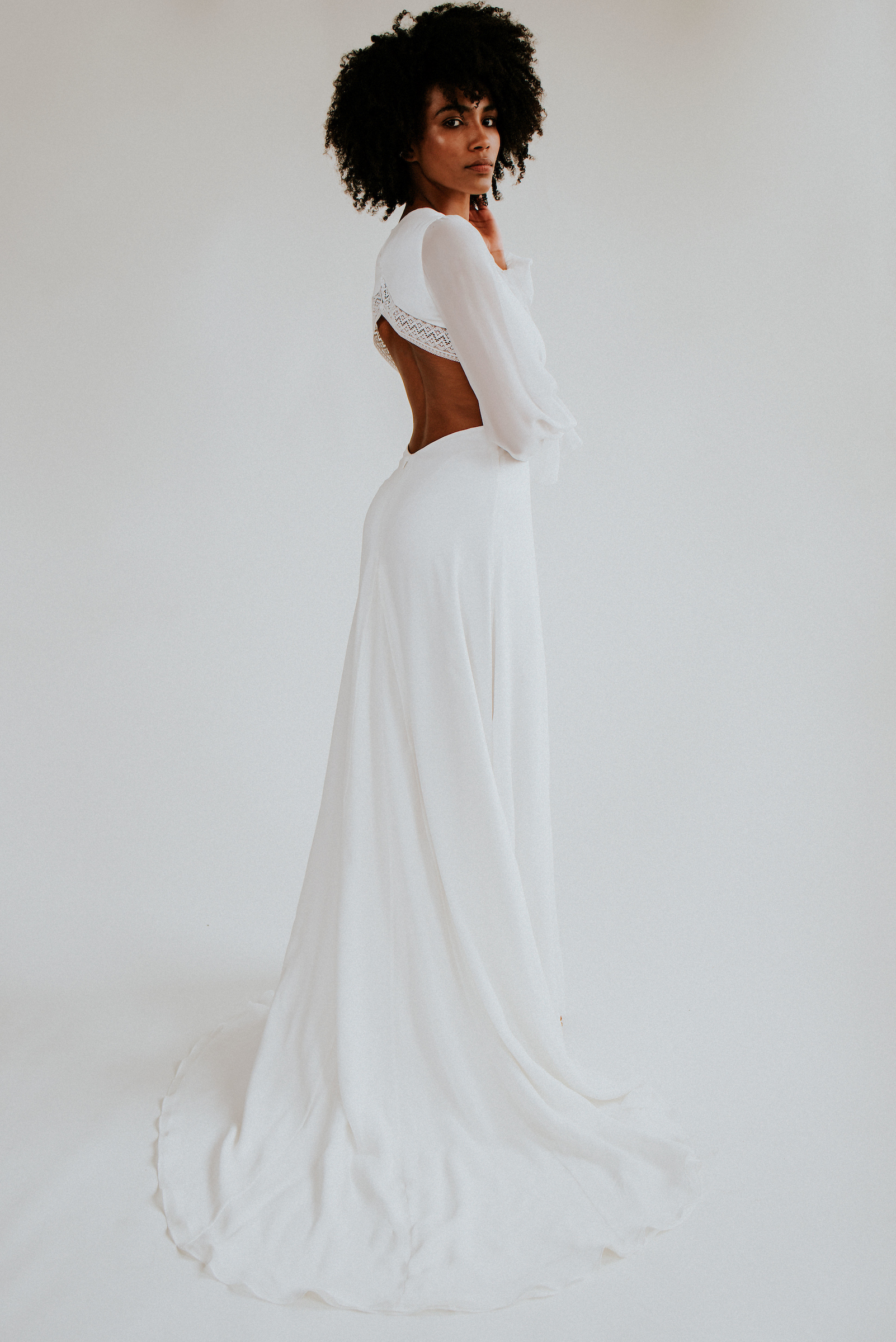cool boho wedding dresses for the eco conscious bride by Rolling in roses