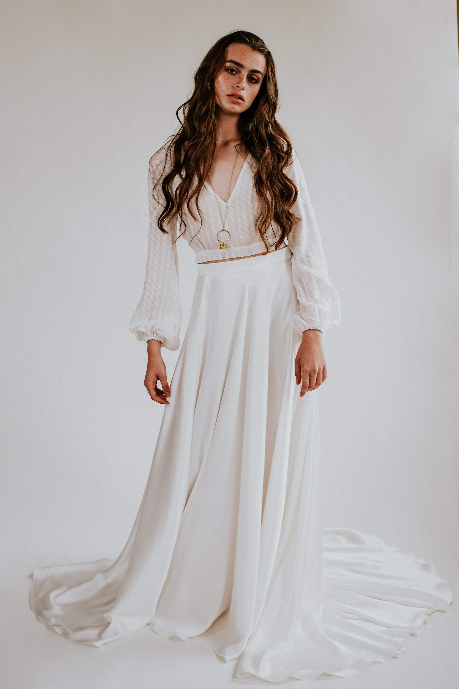 boho wedding dress for 2020 by eco friendly bridal label rolling in roses uk