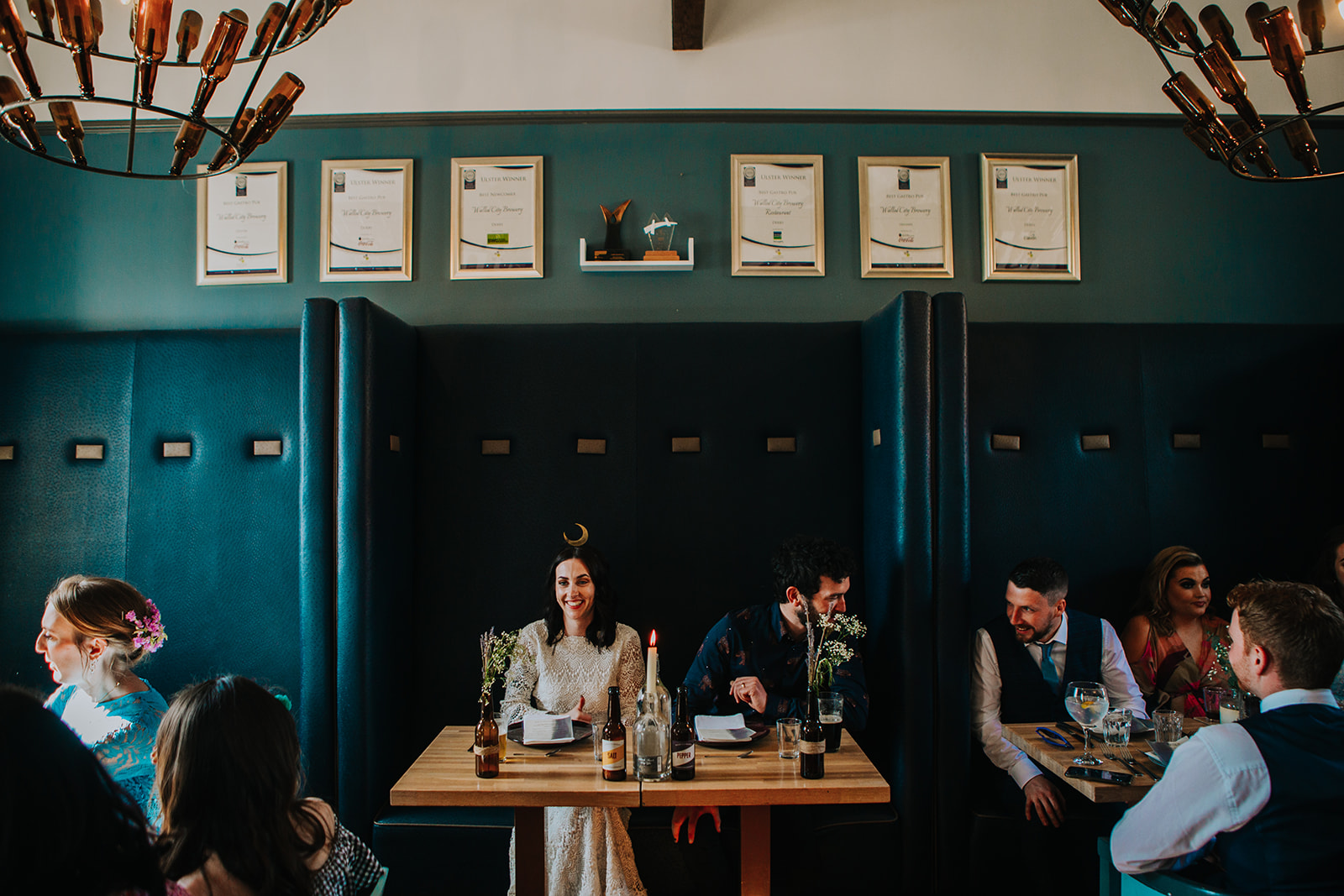 cool irish wedding at The Walled City Brewery