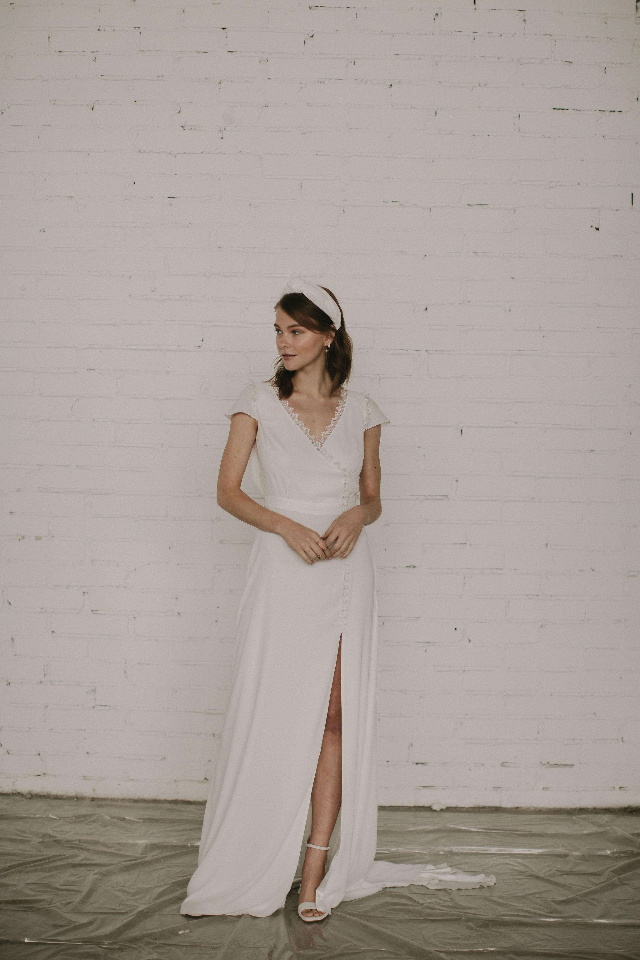 modern cool wedding dresses for the boho bride ireland
