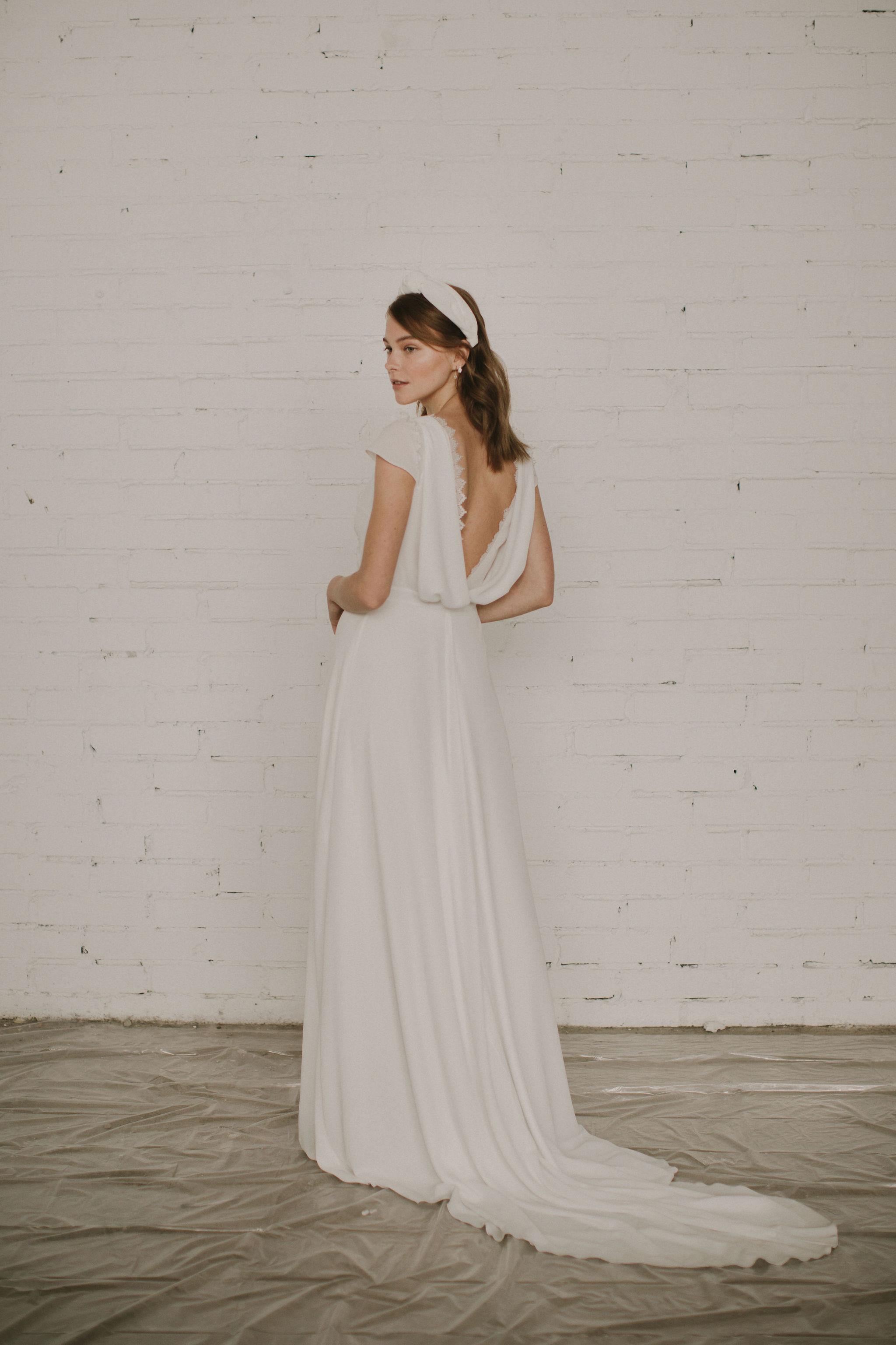 modern romantic wedding dress collection by Otaduy
