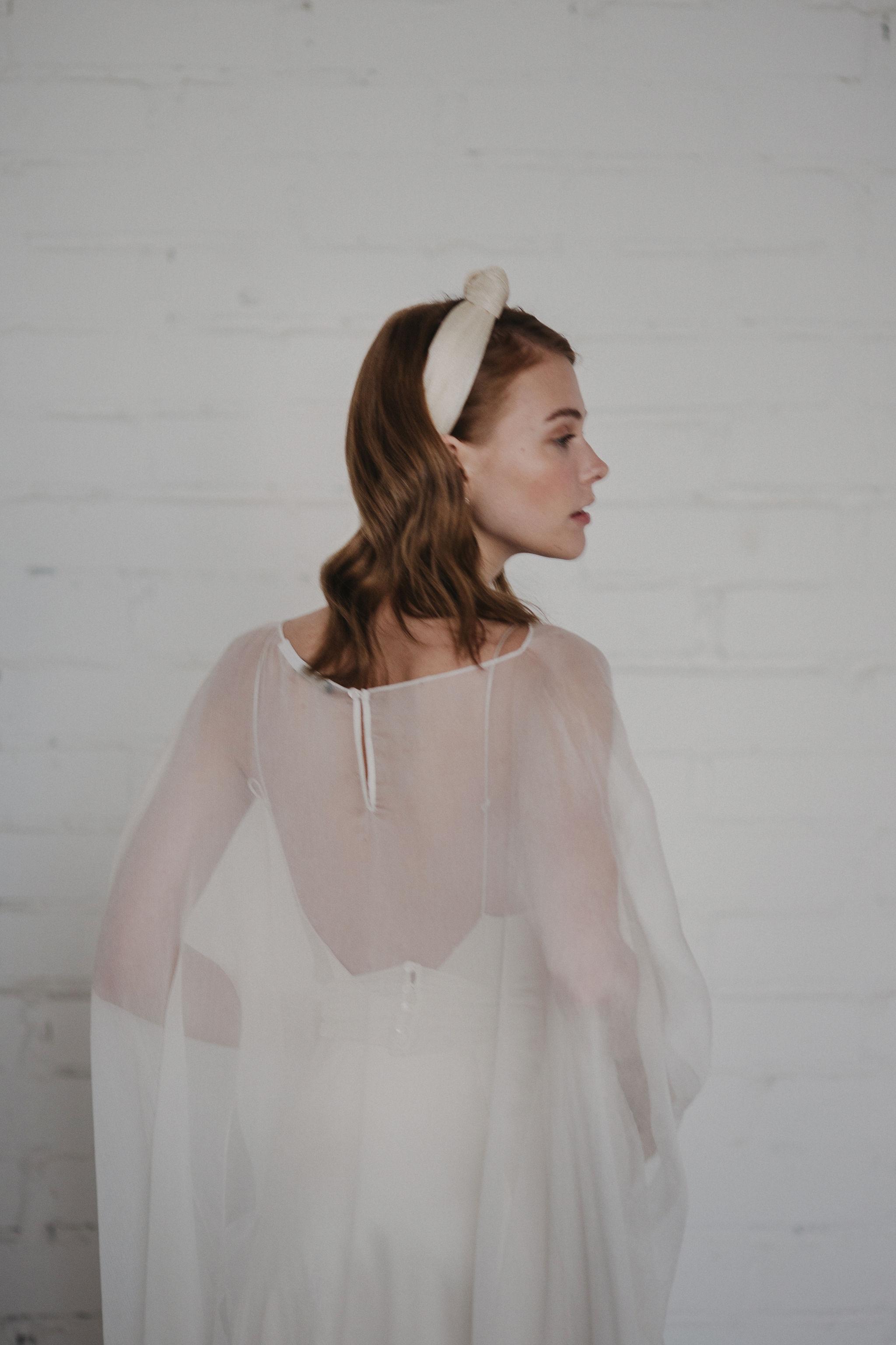 modern boho wedding dresses by Otaduy