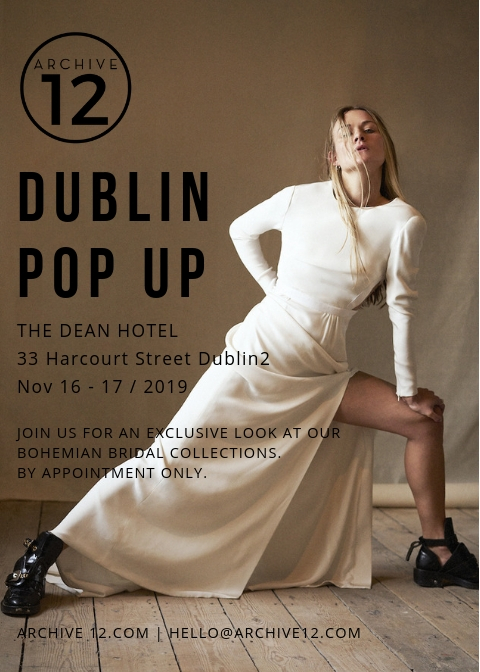archive 12 dublin pop up 2019