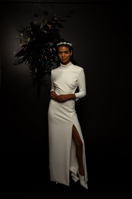 modern cool bridal fashion editorial with ARCHIVE 12 / BON BRIDE