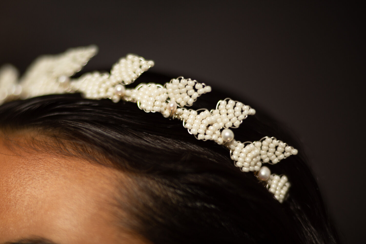 modern bridal crowns at ARCHIVE 12