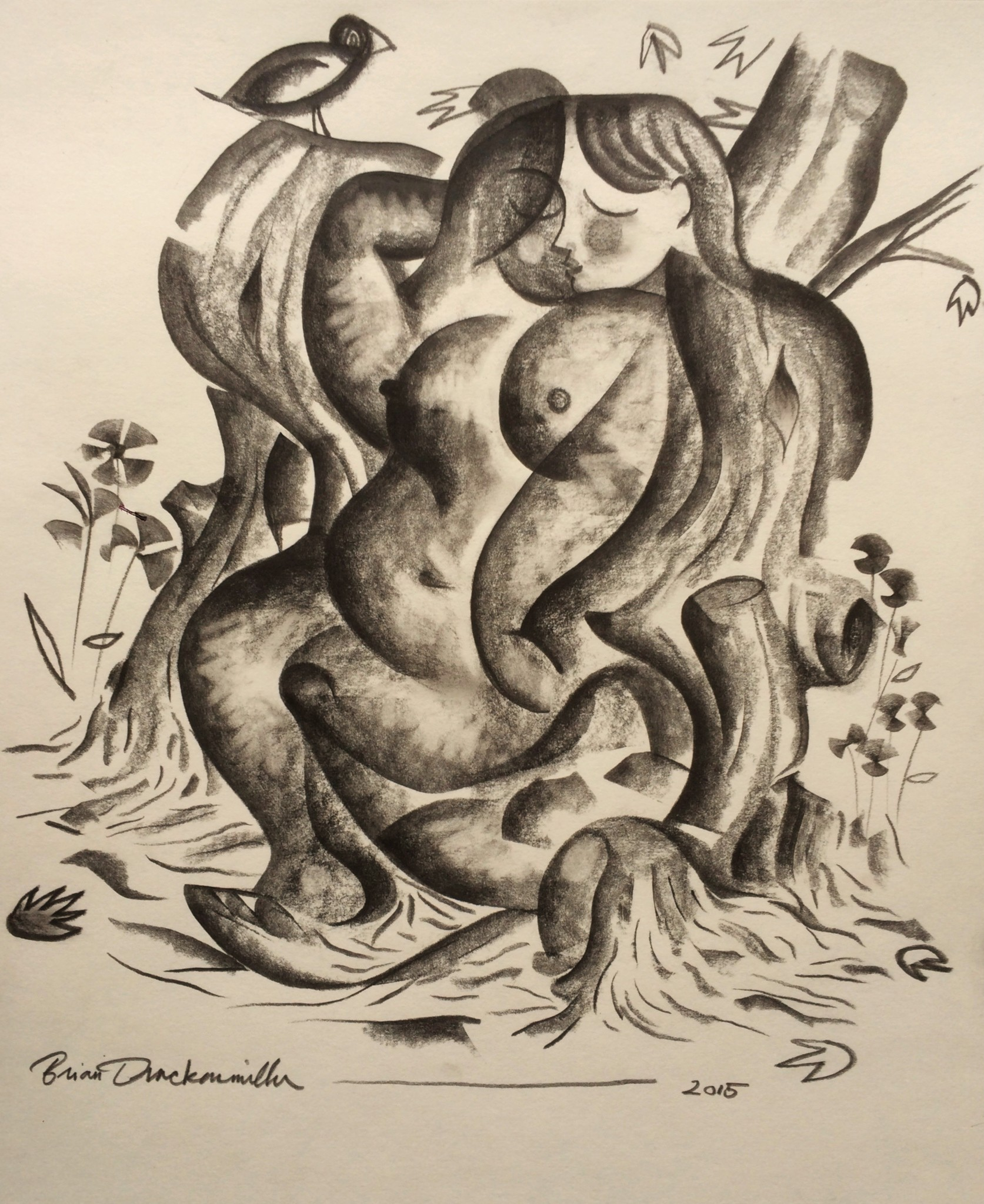 """""""Woman in the Trees"""""""