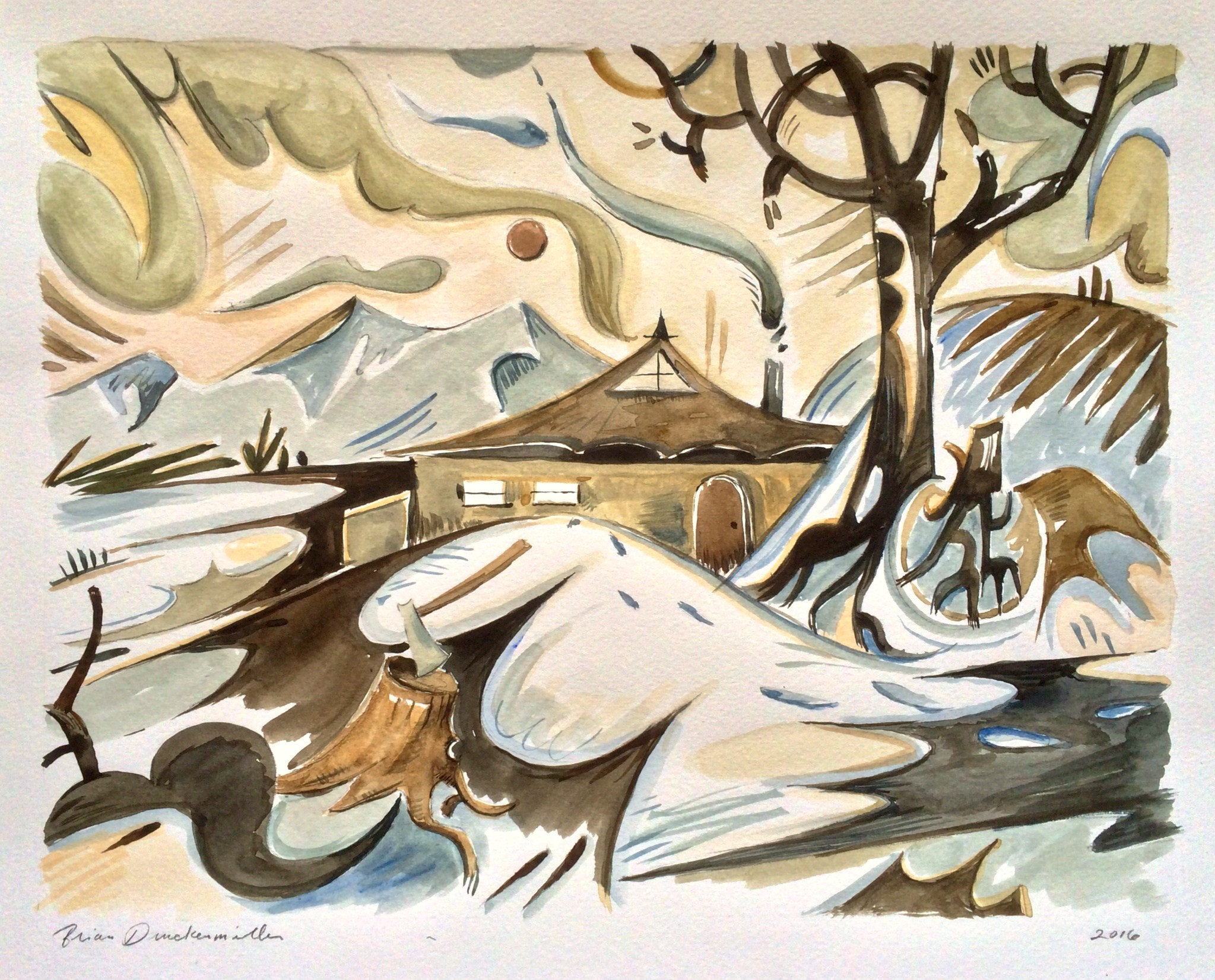 """""""A Winter's Day (Chopping Wood)"""""""