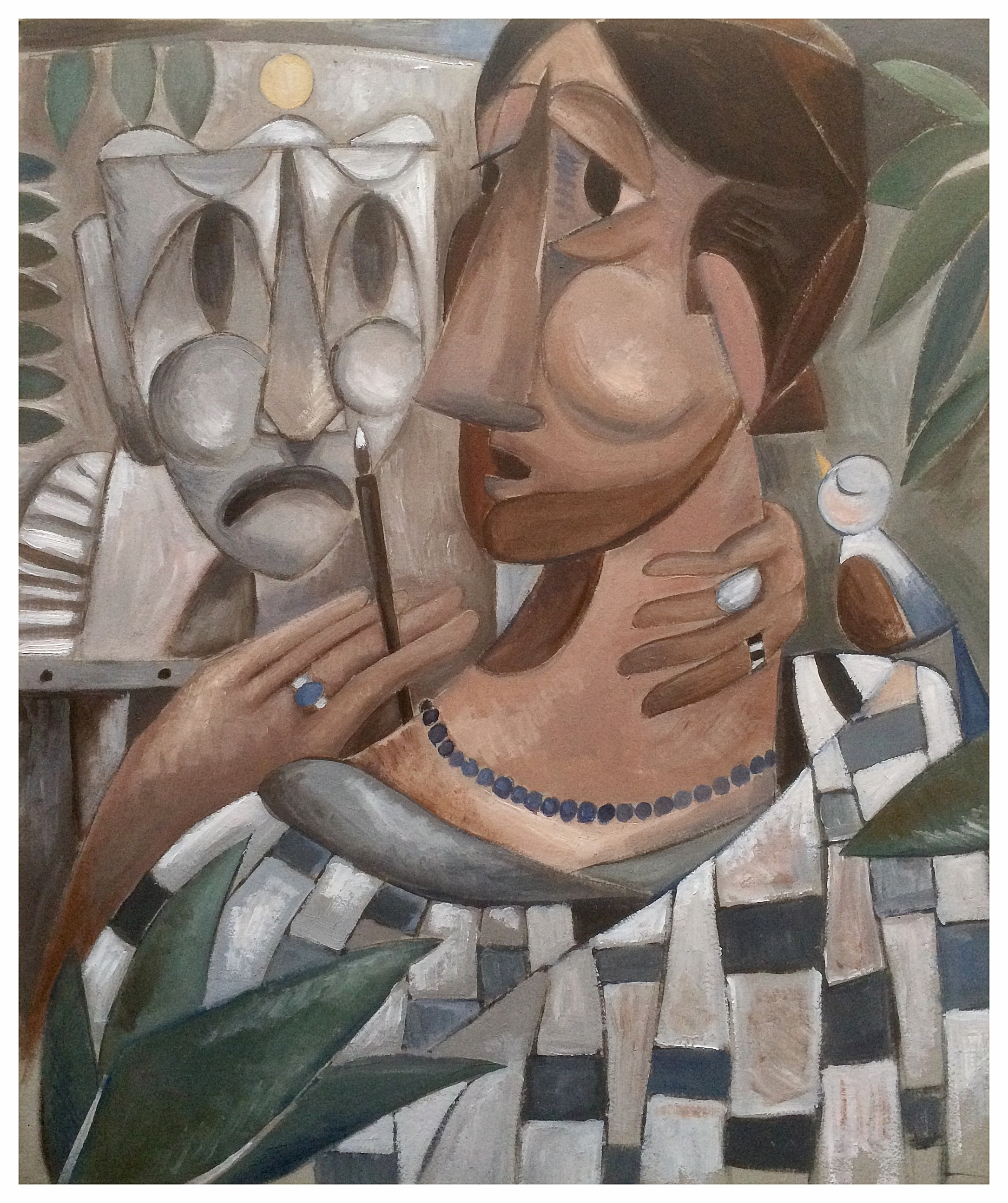 """The Mask (Self Portrait)"