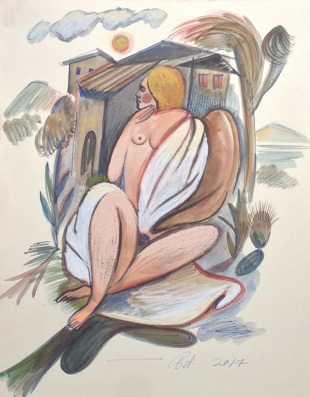 """""""Woman in a Blanket"""""""