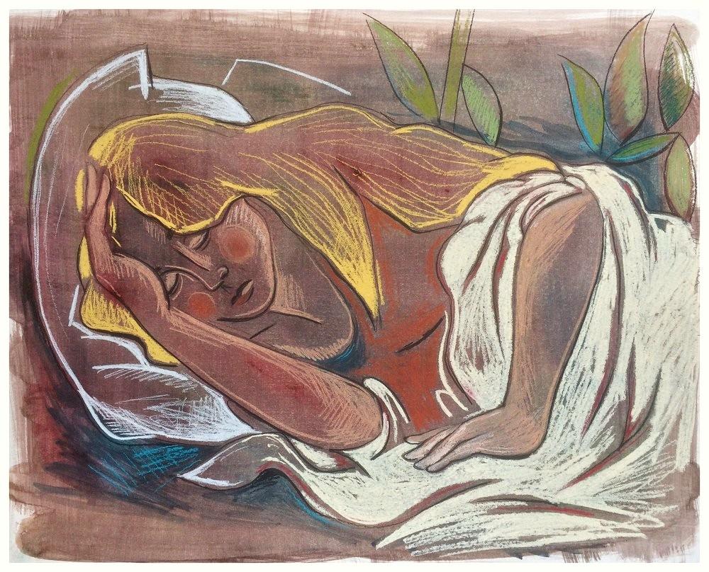 """""""The Sleeping Girl"""""""