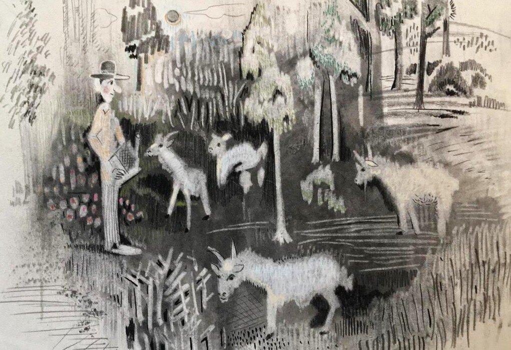 """""""The Goat Feeder"""""""