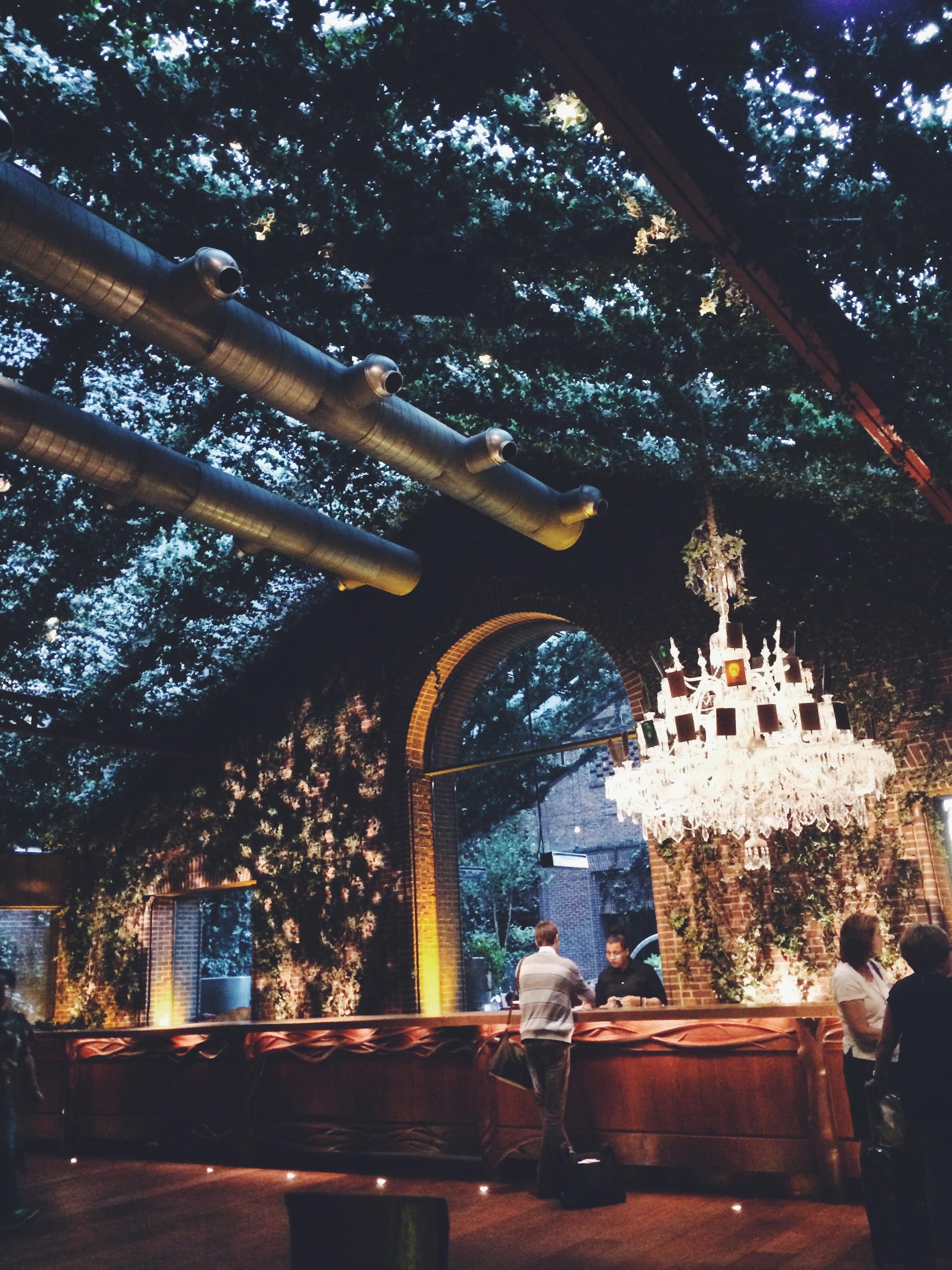 The Hudson Hotel lobby