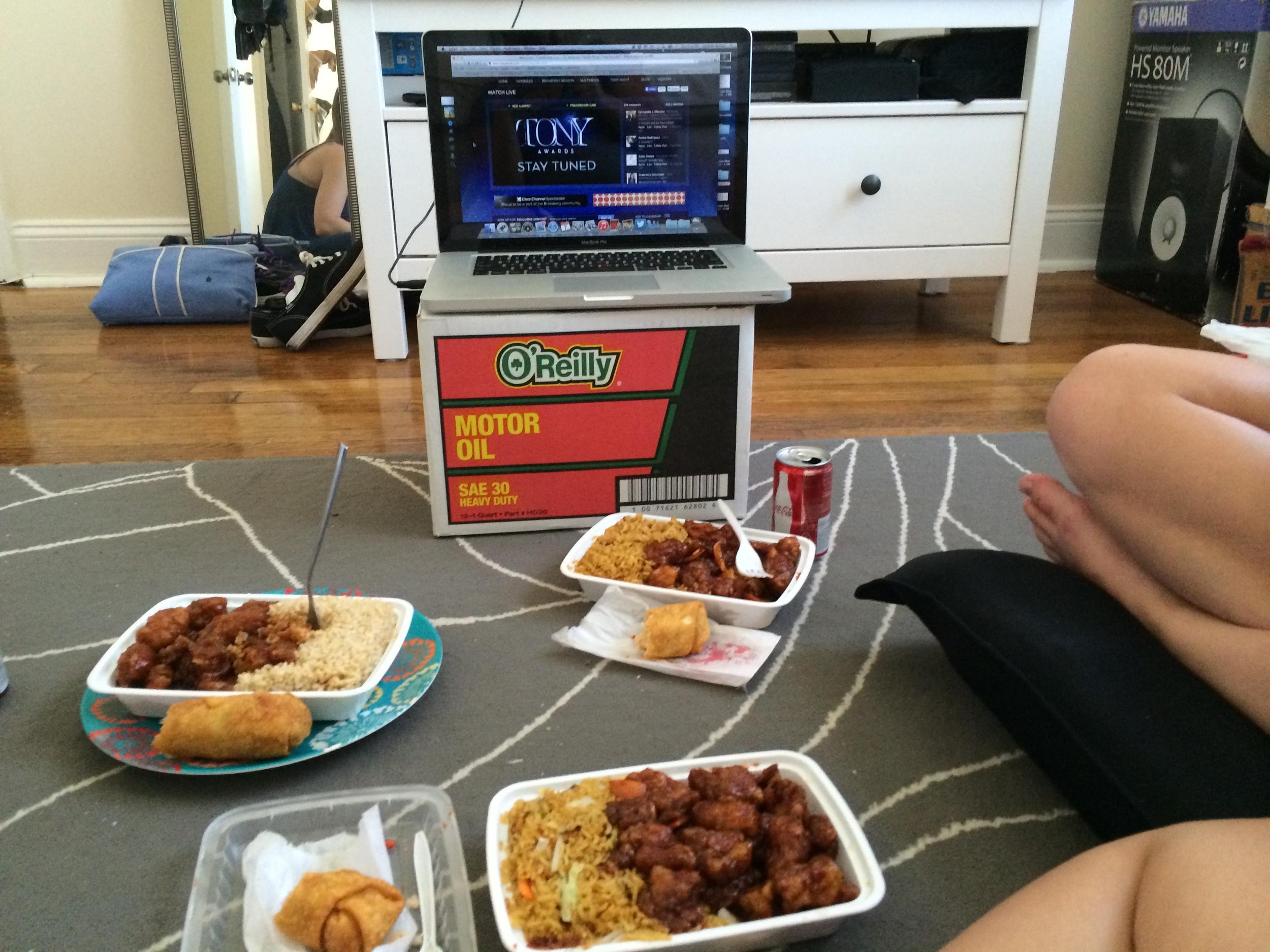 Mmmm, chinese food!