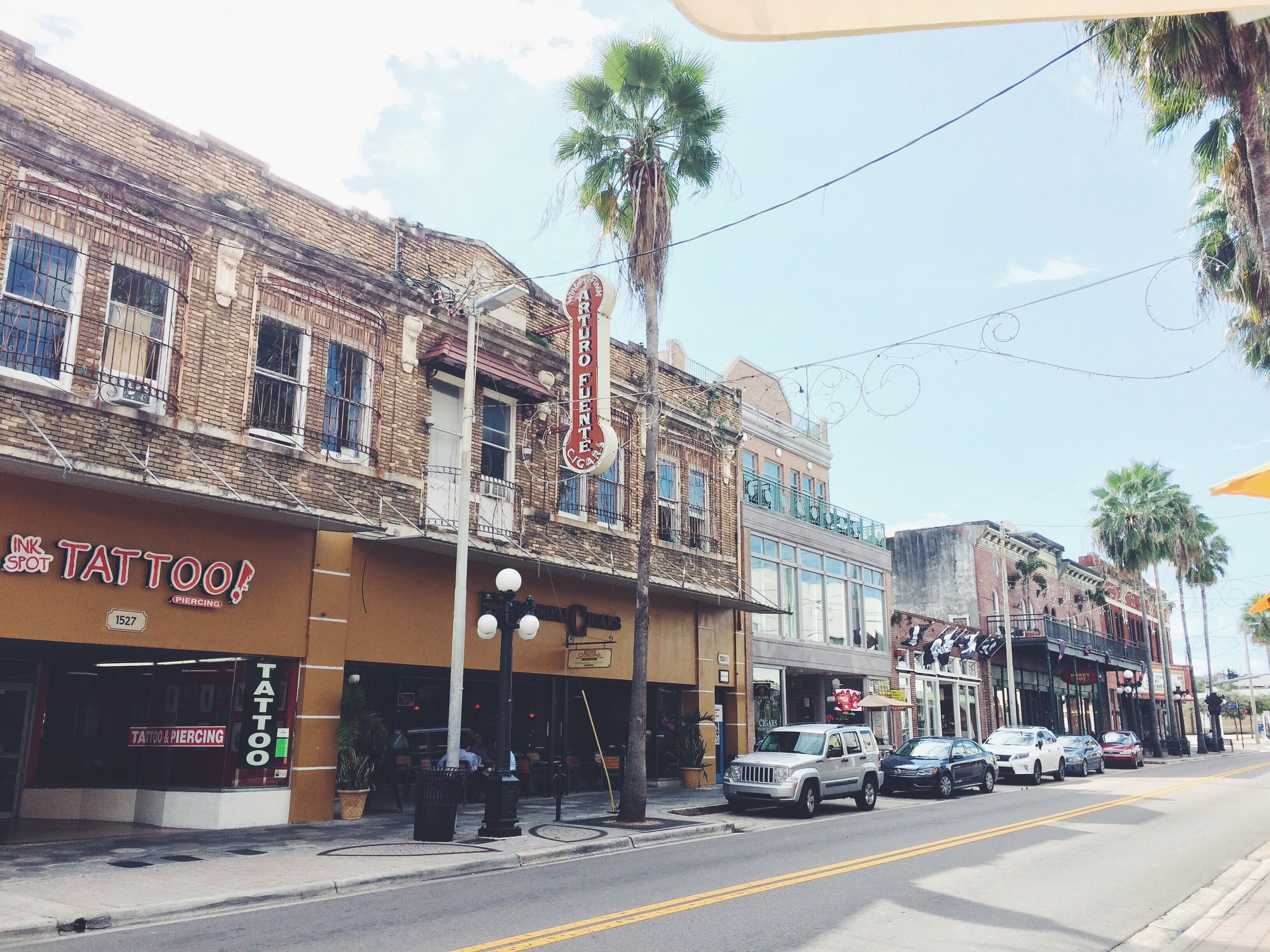 Ybor City!! I was not hipster enough...
