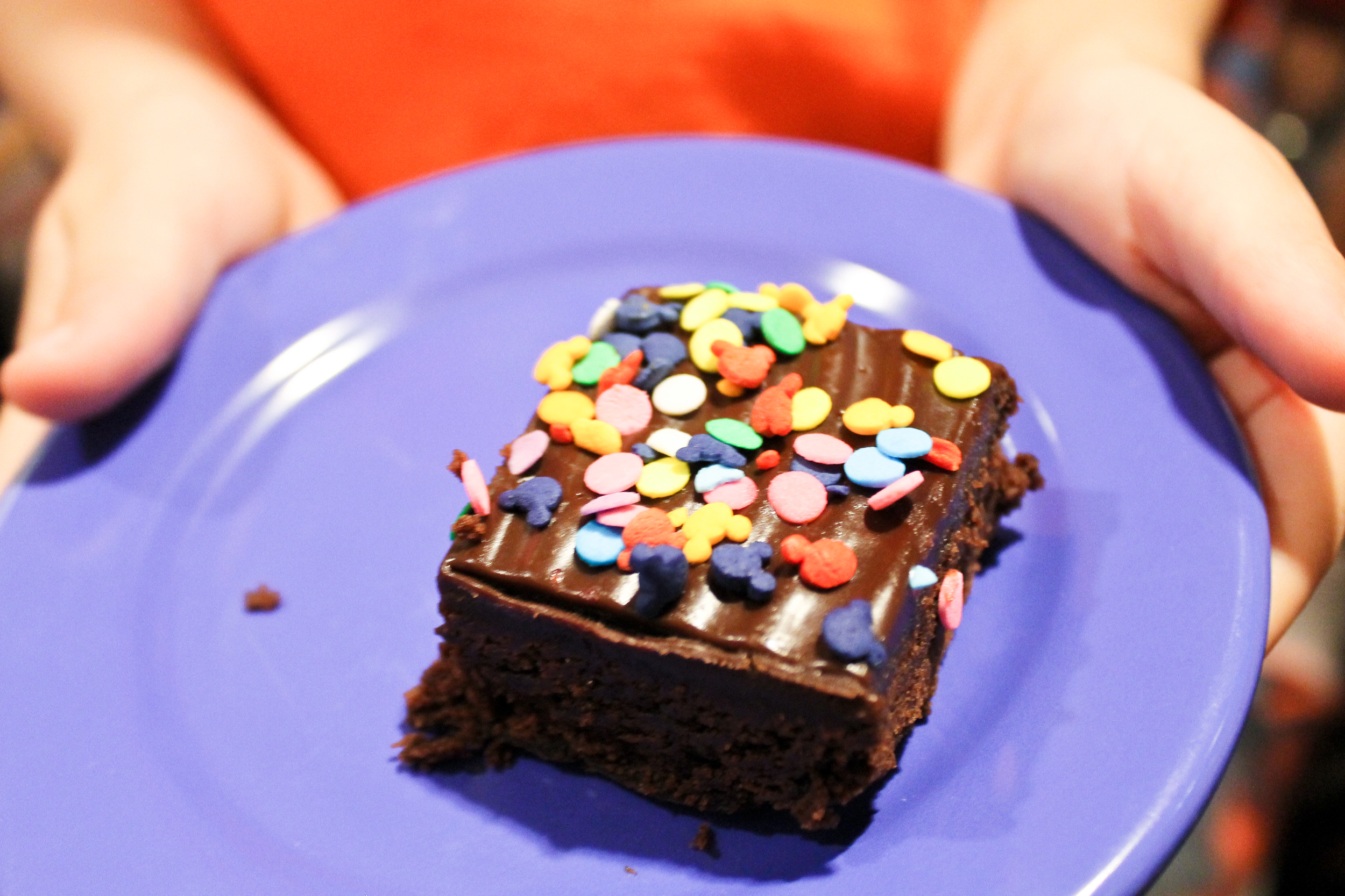 Plus, who doesn't love brownies for breakfast??