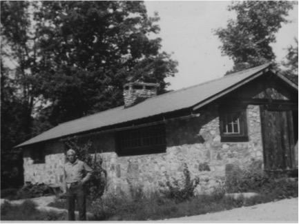 Richard Gregg at Forest Farm, VT