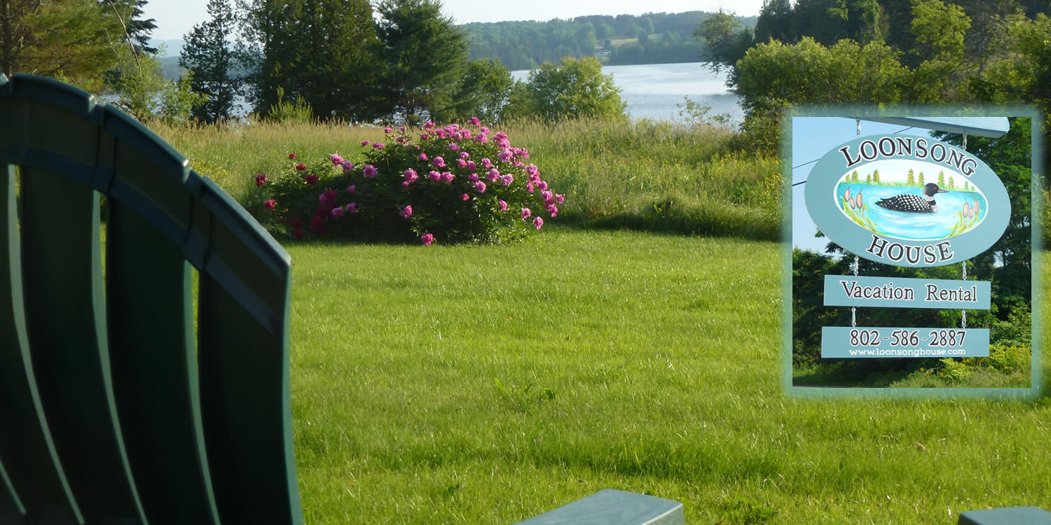 contact Loonsong vacation rental in craftsbury vt