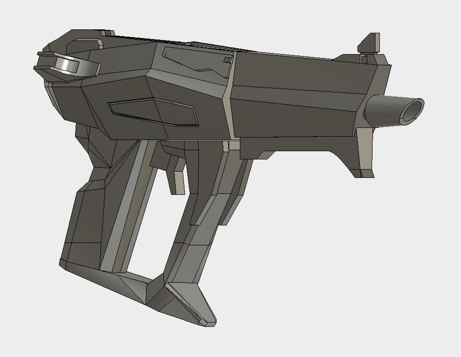 Hyperion Pistol with E-Tech Grip
