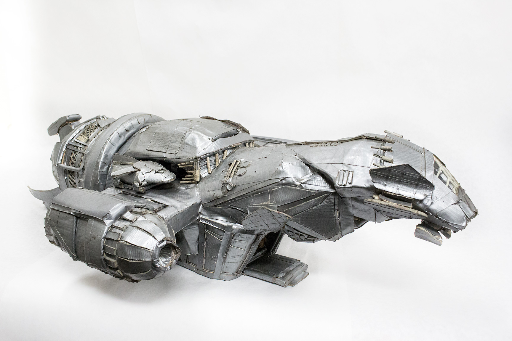 Duct Tape Serenity: 23 lbs of tape, 27 Rolls, 120 Hours (Click for more pictures!)