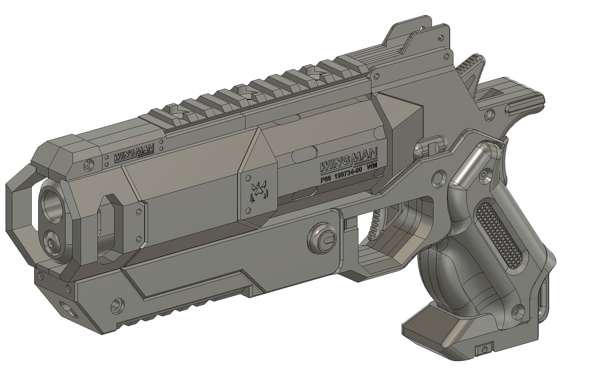 3D Models — Rocket Props