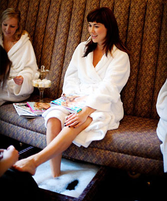 Pedicure in Whistler