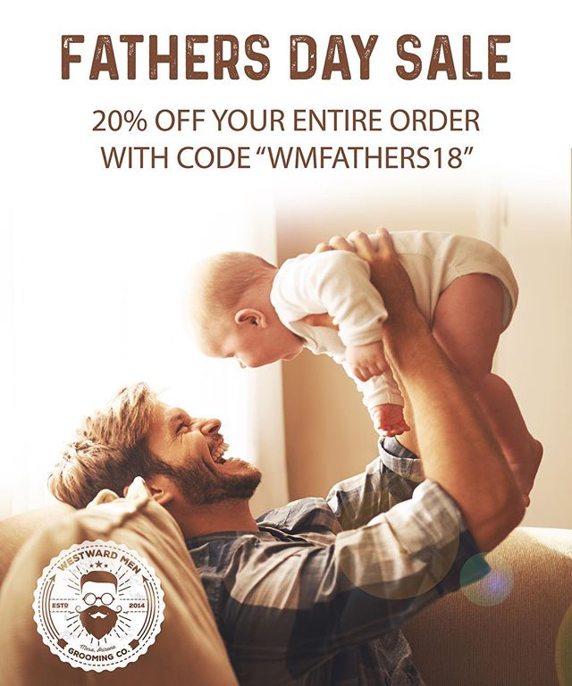 Fatherhood is a truly special thing. In honor of all the Fathers out there, we are hooking you guys up with 20% off your entire order. Just use the promo code WMFATHERS18 at checkout. Offer ends June 17th at midnight.
