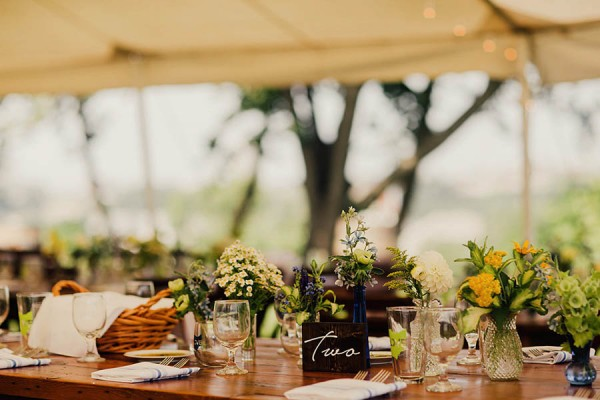 Eco-Friendly Wedding at Home in Cleveland - JUNEBUG WEDDINGS
