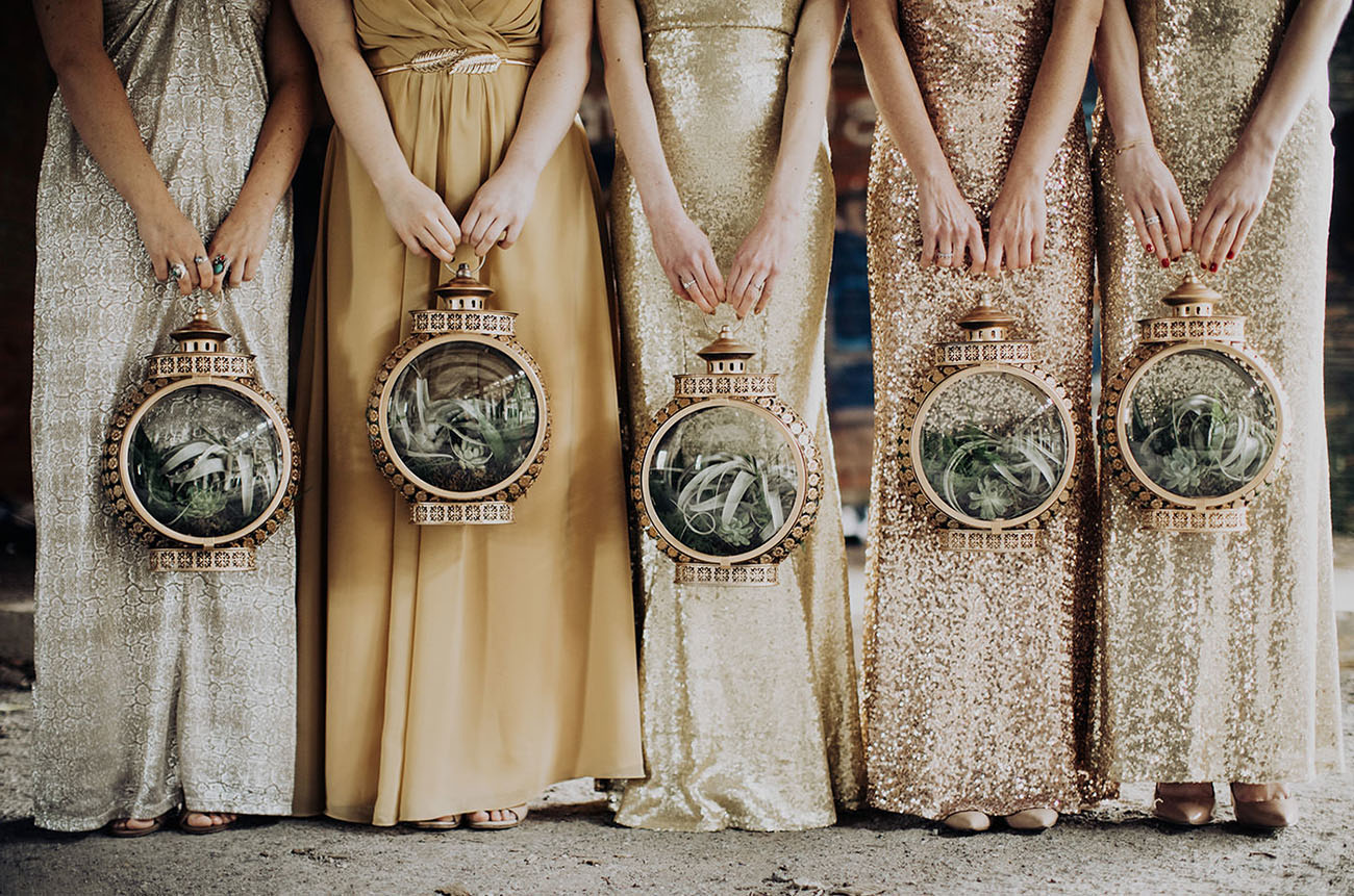 All That Glitters is Gold: DIY Great Gatsby-Inspired Wedding - GREEN WEDDING SHOES
