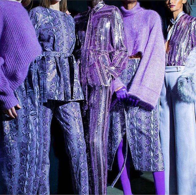 PURPLE 💜 Backstage @sally_lapointe 💜 📷 by @kevintachman . . . . . . #mychicatelier #mychicatelier #sallylapointe #clothing #newyork #madeinnyc #madeinnewyork #emergingdesigner #cool #musthave #shoponline #brandswelove #fashion #moda #diseñadoremergente #emergingdesigner  #nyc  #picoftheday #saturday #autumnwinter #aw19 #picoftheday #instafashion