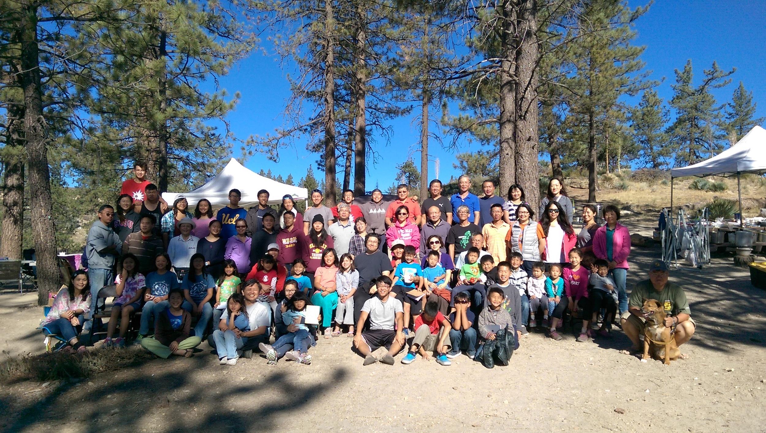 露營 團體照 2015