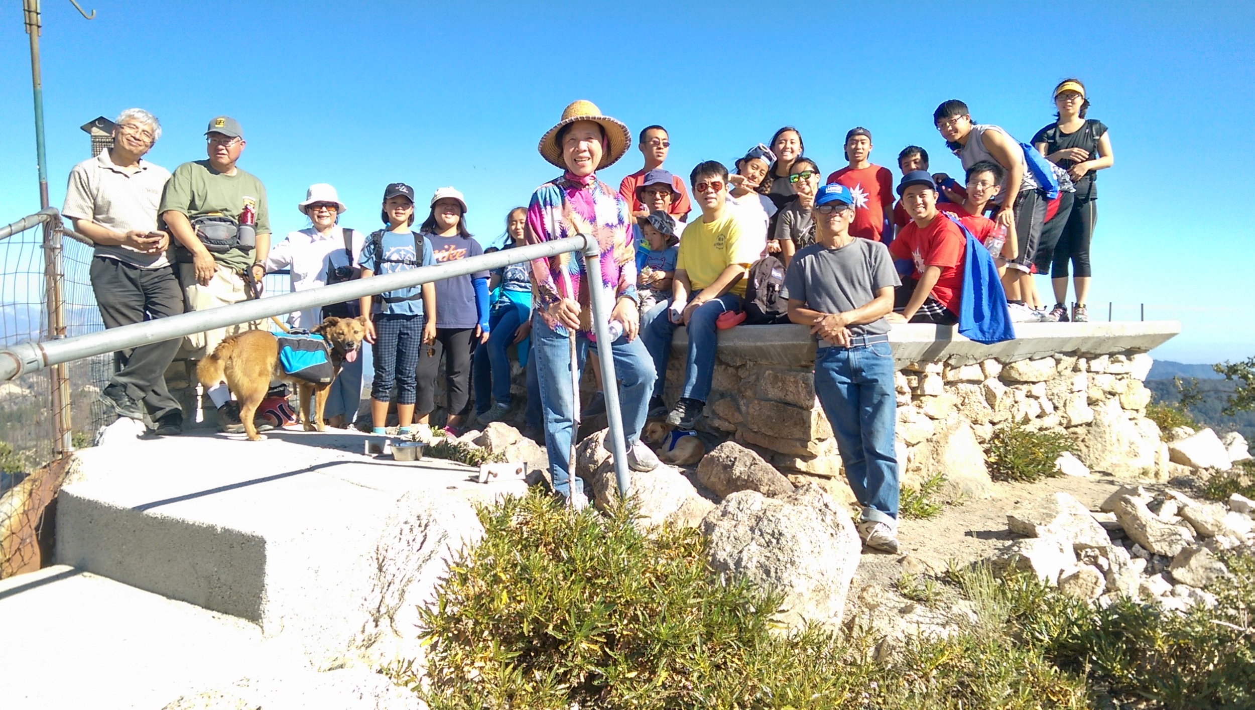 露營 健行 山頂 2015