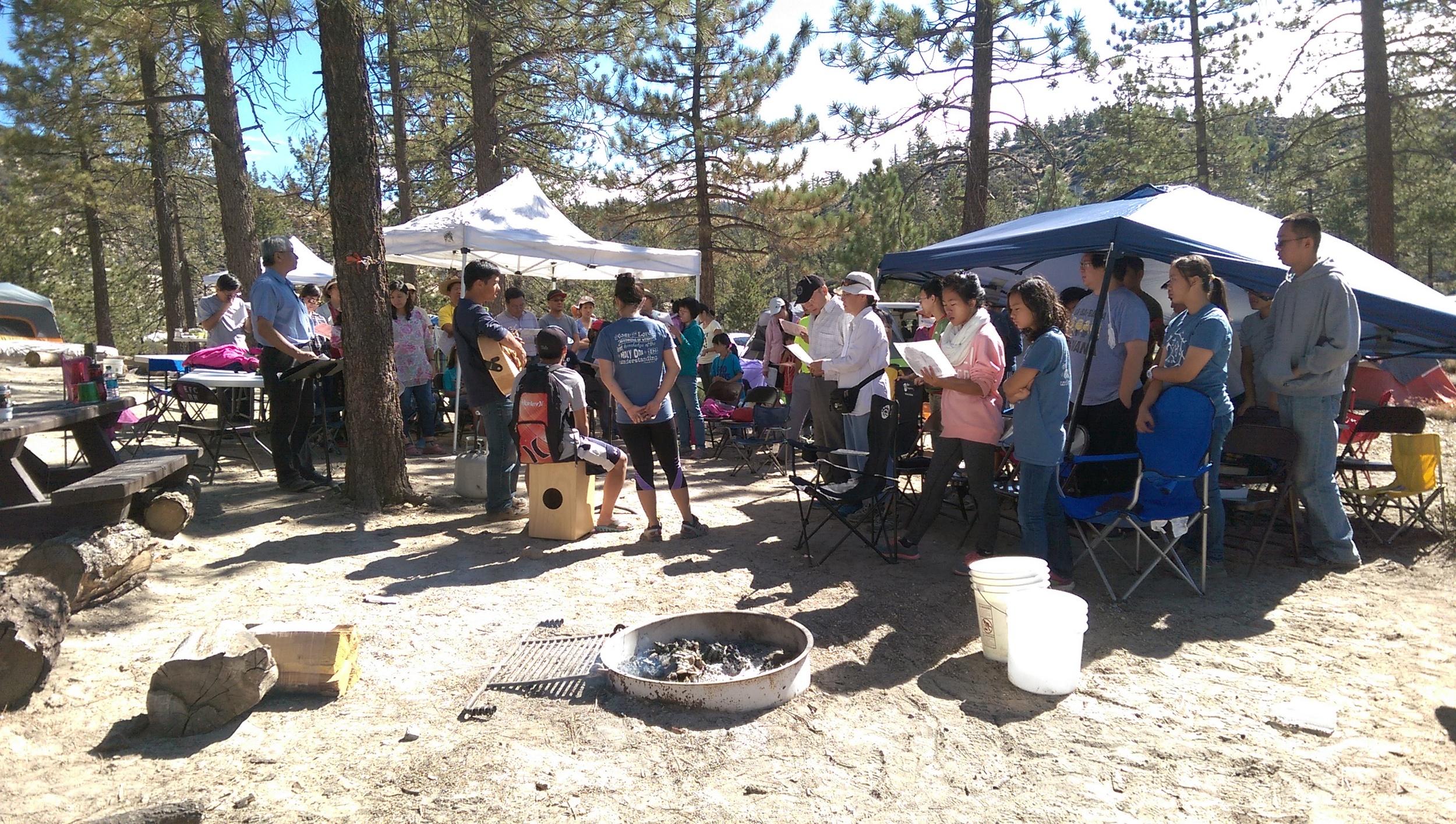 露營 聚會 2015