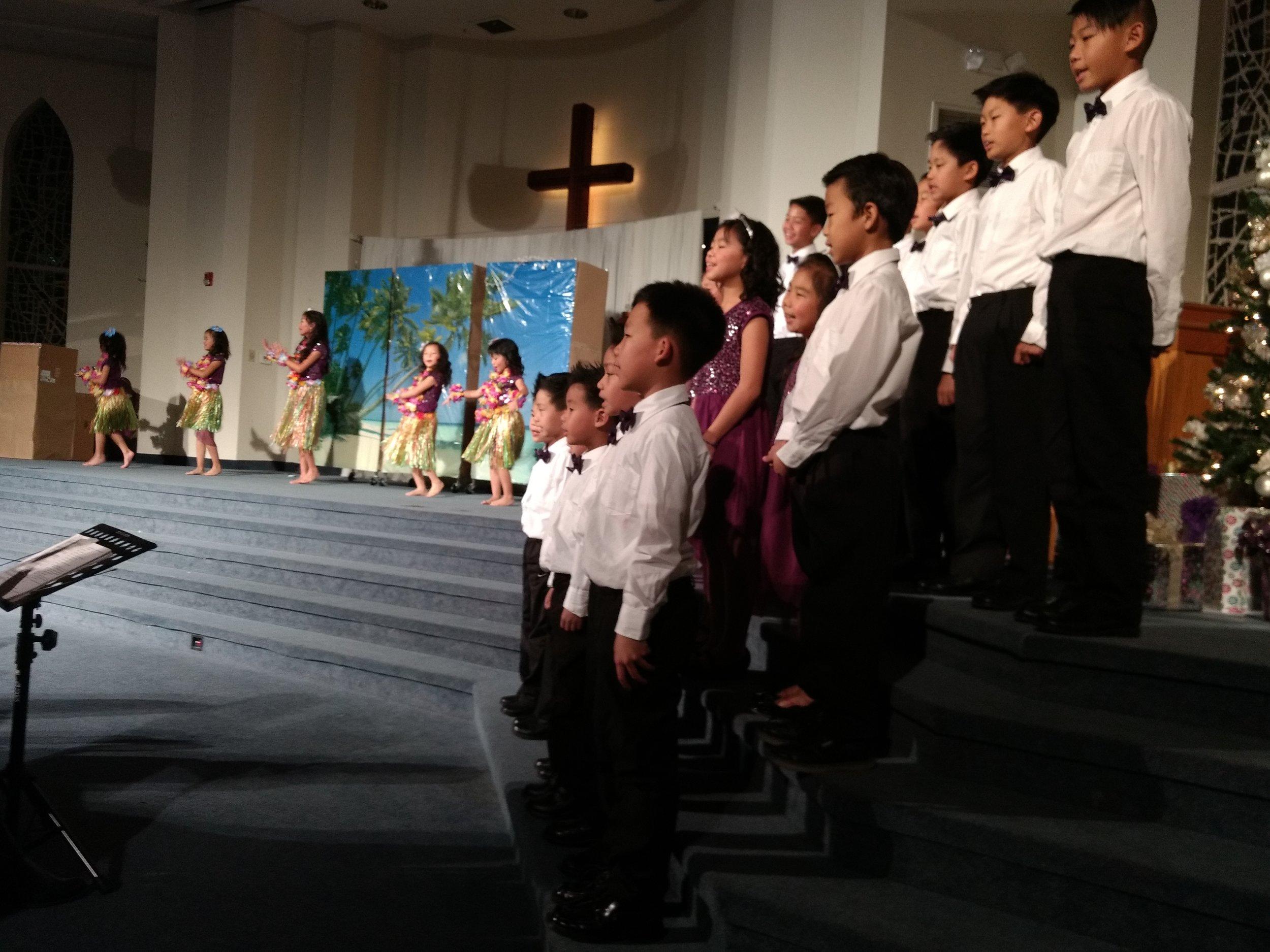 2016 聖誕節 兒童表演