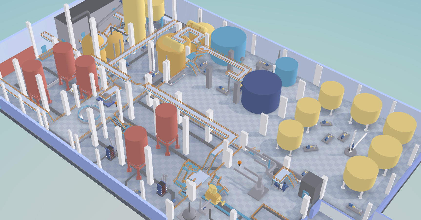 An interactive, gamified 3D-companion for the workers at Skutskär factory