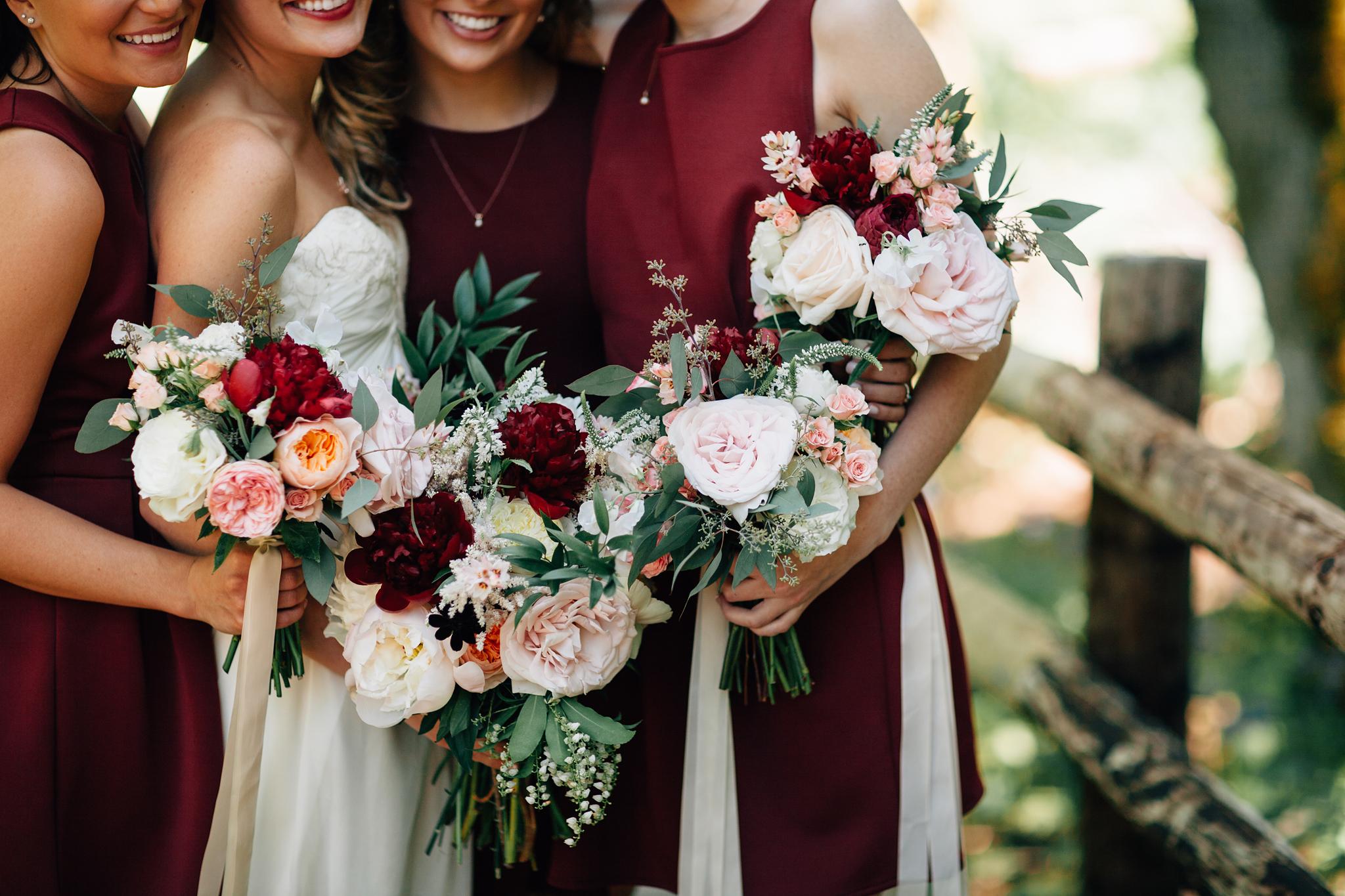 bridesmainds bouquets