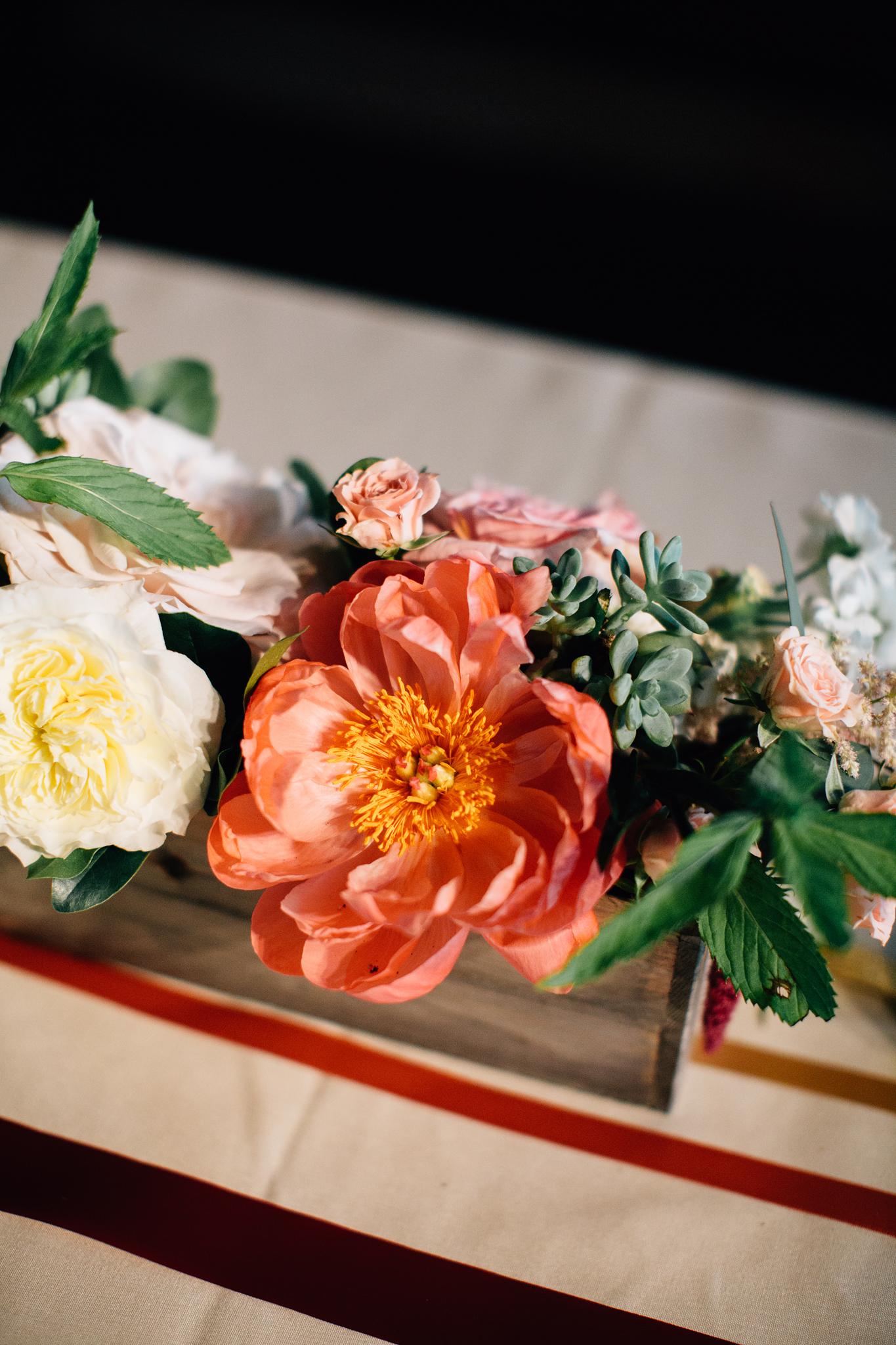 wedding centerpiece floral arrangement