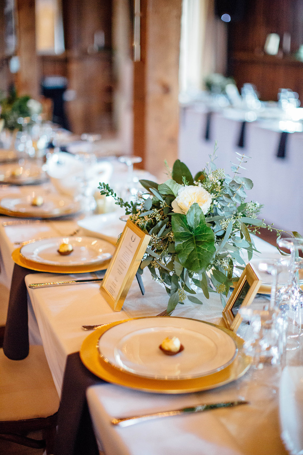 reception place settings